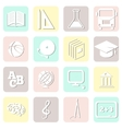 education seamless school pattern vector image vector image