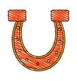 horseshoe vector image vector image