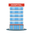 Hospital high building icon