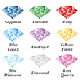 Jewelry set volume vector image vector image