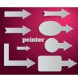 Pointer vector image
