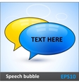 Speech bubbles dialogue elements vector image vector image