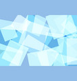 light blue square abstract background vector image