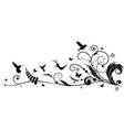 humming bird design vector image