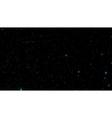 Stars in night sky Background vector image
