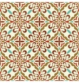 traditional seamless pattern vector image