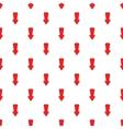 Big arrow pattern cartoon style vector image vector image