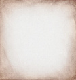 brown canvas to use as grunge background or vector image vector image