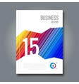 Business colorful design background Cover vector image vector image