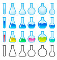chemical science equipment vector image