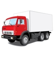 Delivery truck vector | Price: 3 Credits (USD $3)
