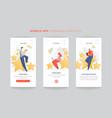 feedback survey flat app concept with vector image