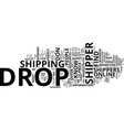 five tested ways to find the perfect drop shipper vector image vector image