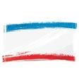 Grunge Crimea flag vector image vector image