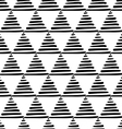 japanese triangles vector image vector image