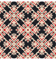 luxury star damask seamless tiled motif pattern vector image vector image