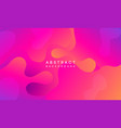 moving colorful abstract background dynamic vector image vector image