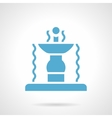Outdoor fountain glyph style icon vector image vector image