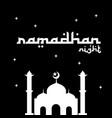 ramadhan kareem theme 2018 vector image vector image