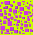 squares abstract 80s seamless pattern vector image vector image