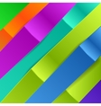 Colorful Diagonal Banners for Business vector image