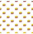 book school pattern seamless vector image vector image