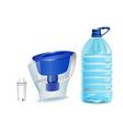 clean water vector image vector image