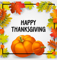 happy thanksgiving concept background isometric vector image vector image