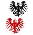 Royal heraldic eage vector image vector image