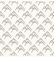seamless geometric pattern with mountain vector image vector image