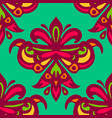 seamless pattern for tiled surface vector image vector image