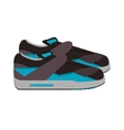 sneaker without laces icon vector image vector image