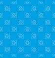 top secret pattern seamless blue vector image