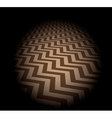 Zigzag background vector image vector image
