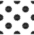 bio label icon in black style isolated on white vector image