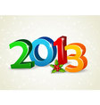 2013 newyear vector image