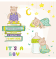 baby bear set - for shower cards
