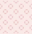 cute floral seamless pattern for girls vector image