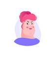 female user avatar vector image