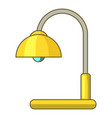 lamp table icon cartoon style vector image vector image