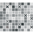110 seamless geometric patterns vector image vector image