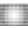 black halftone overlaying background vector image