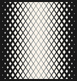 geometric halftone seamless rhombuses pattern vector image vector image