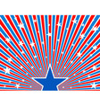July 4th background vector image vector image