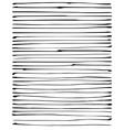 liquid organic black stripe lines pattern on white vector image vector image