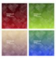 set of minimal geometric background dynamic vector image vector image