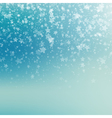 Falling Snow Background Abstract Snowflake Pattern vector image