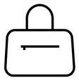 bag shopping icon vector image