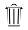 big garbage ecological jar vector image