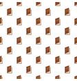 book ajar pattern seamless vector image vector image
